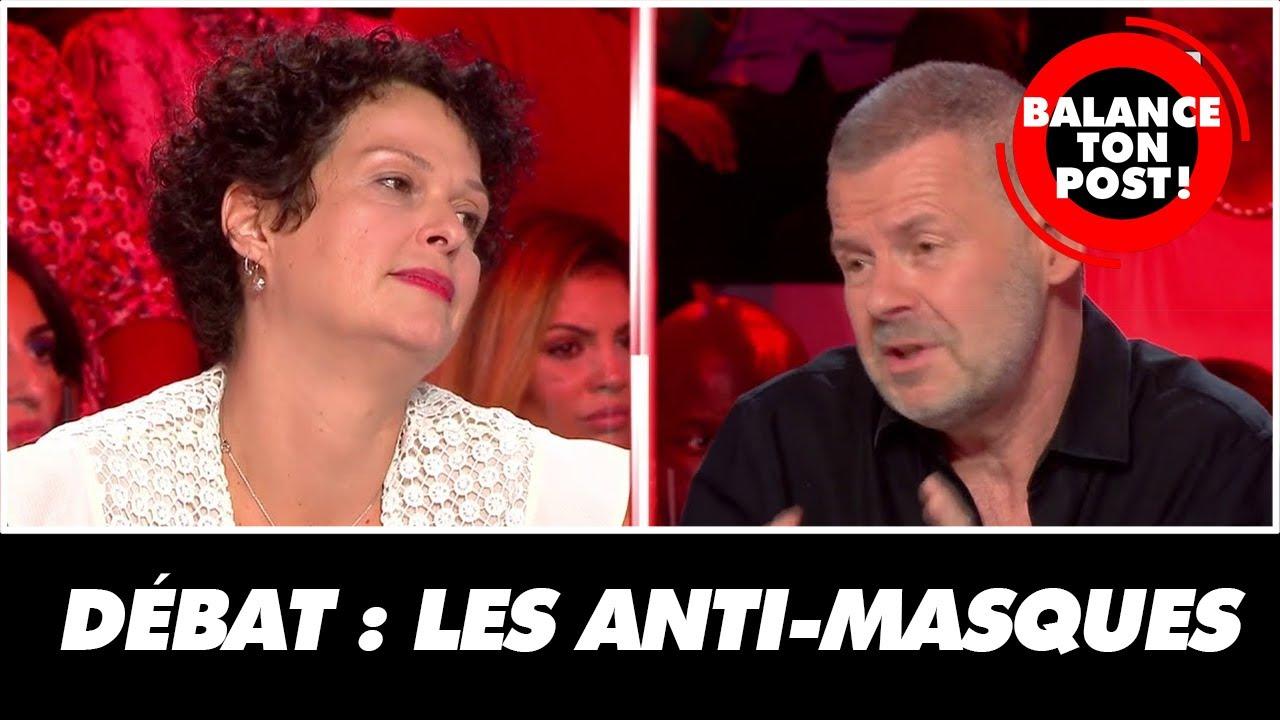 Le débat houleux entre Eric Naulleau et Stéphanie, militante anti-masques