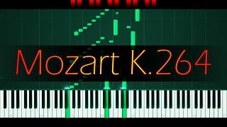 9 Variations in C major, K. 264 // MOZART