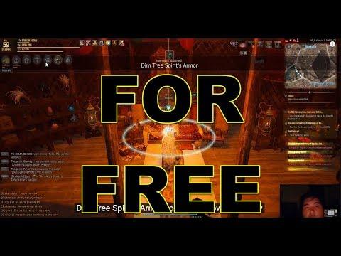 Get Your Dim Tree Spirit's Armor FOR FREE - Black Desert Online