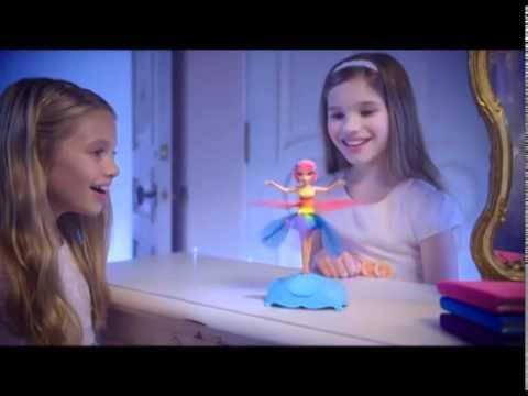 Кукла Летающая Фея 35808 Фея с подсветкой, парящая в воздухе