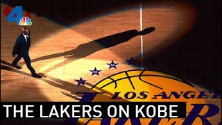 Watch Live: Lakers Speak After Kobe Bryant's Death | NBCLA