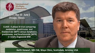 ASCO 2014: E1A06: A phase III trial comparing MPT versus MPR in newly diagnosed multiple myeloma
