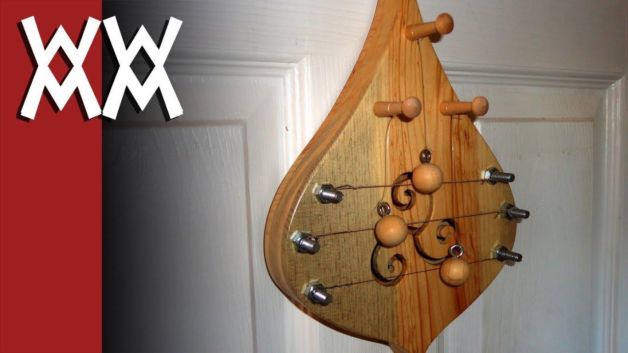 Make a door harp - YouTube