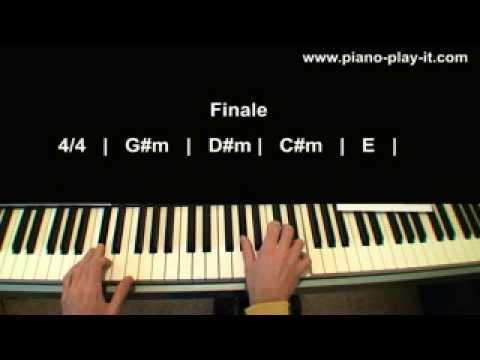 Poker Face Lady Gaga Piano Tutorial (Glee Version)