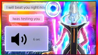 He Trash Talked on Mic, So I Schooled Him With Whis | Dragon Ball Xenoverse 2