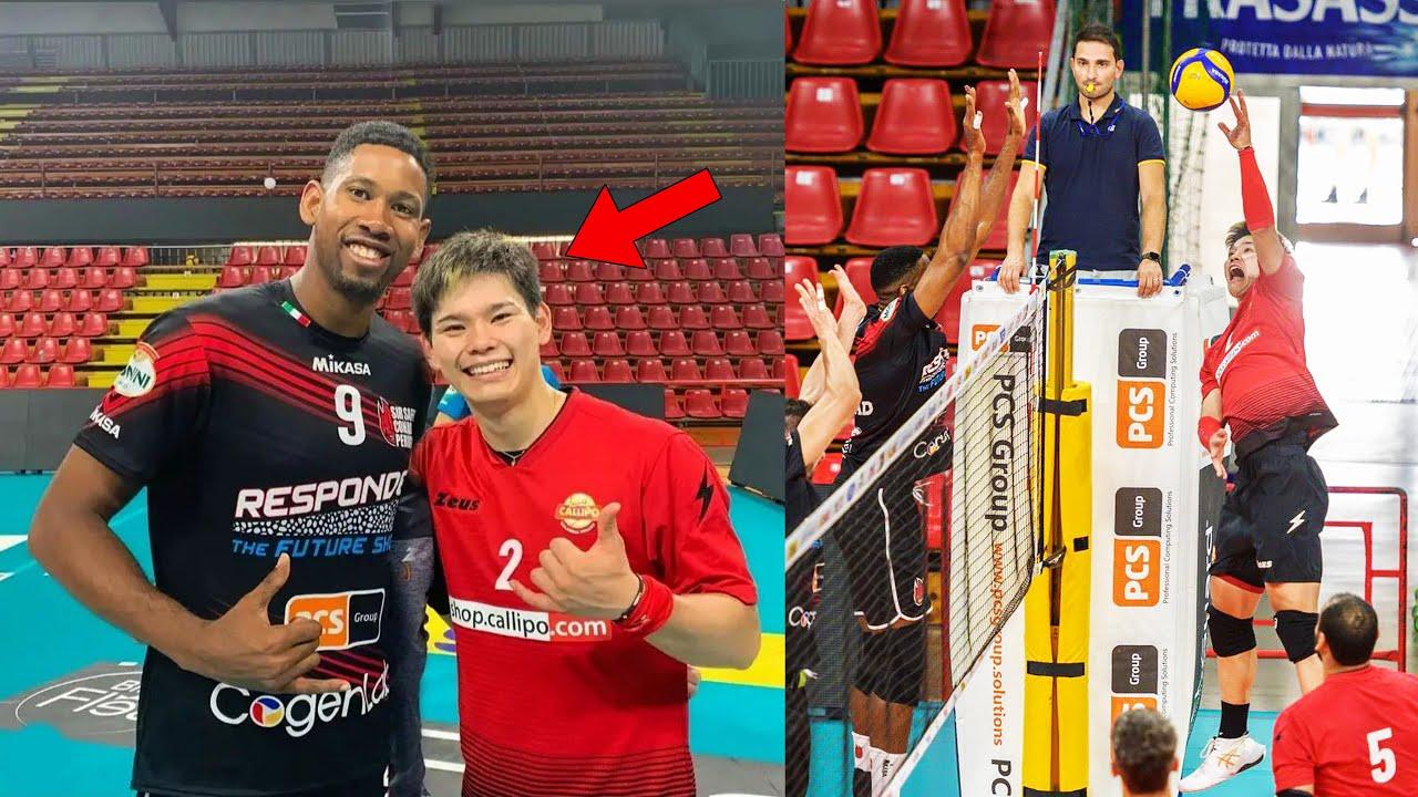 The Day Yuji Nishida & Wilfredo Leon Met For the First Time
