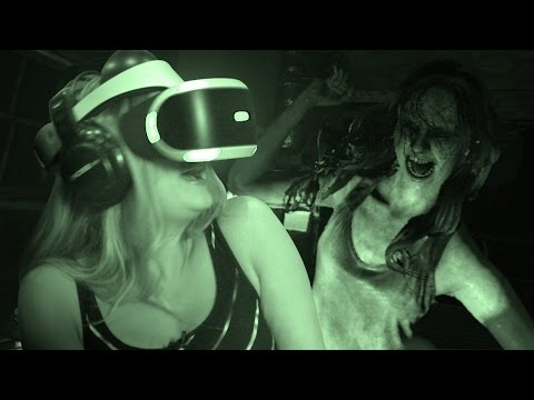 Generate How Scary is The Resident Evil 7 Kitchen Demo in PS VR? Screenshots