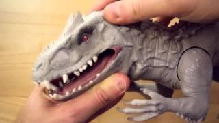 Il più temibile dinosauro di tutta la saga jurassic park e worl è anche in formato giocattolo con figure interattiva dell'indominus rex della has...