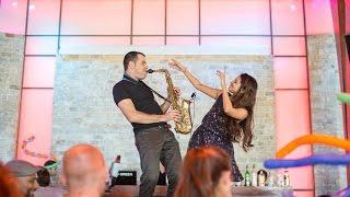 סקסופוניסט לחתונה- טירוף ברחבה- גיא ויטנברג Guy Wittenberg- Live Sax& Violin