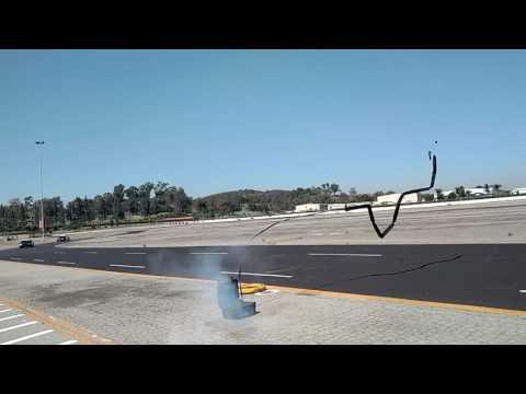 LA County Sheriff's Office Demos NightHawk Spike Strips