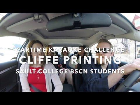 Cartime Karaoke Challenge: Cliffe Printing