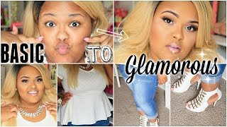 Back To School: Are You A GLAMOROUS STUDENT ! Makeup Tutorial + Outfit For School