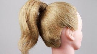 Как правильно сделать хвост из волос, самый удобный способ. How to do a tail