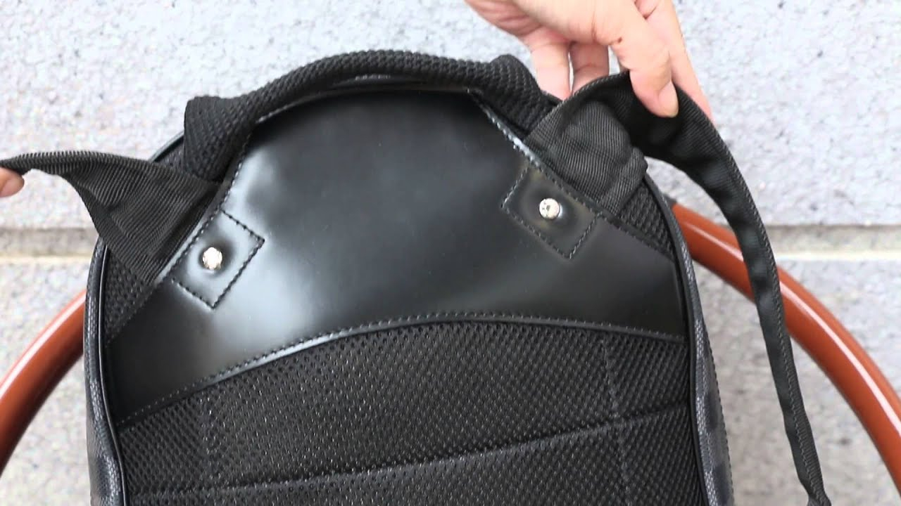 fbcdb903e155 Louis Vuitton Michael Damier Graphite BackPack High End Unboxing Review    Unboxing from Repbeast.cn
