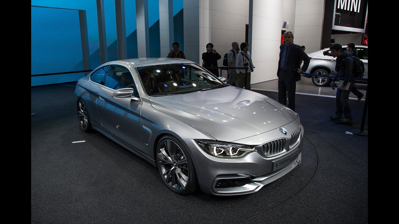 2014 Bmw 4 Series Coupe 2013 Detroit Auto Show Youtube