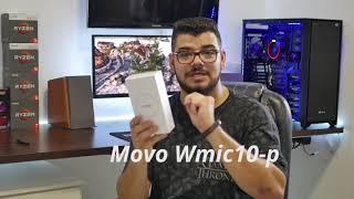 Movo Wmic10-p X ECM CS3 + Zoom H1 - Testes do melhor microfone