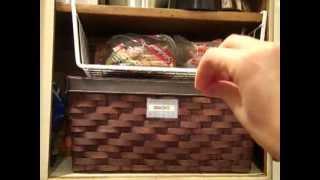 Cupboard Organization: Bread Storage