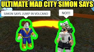 ULTIMATE MAD CITY SIMON SAYS | Roblox Mad City