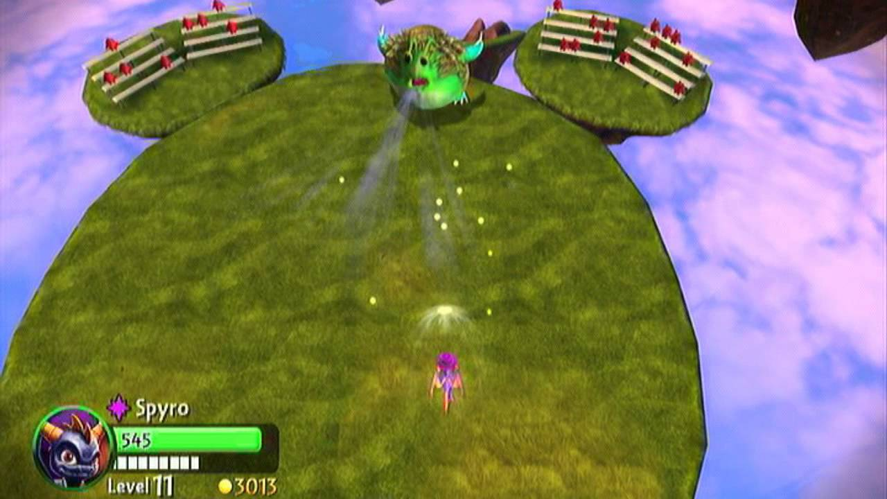skylanders  giants - chompy mage battle
