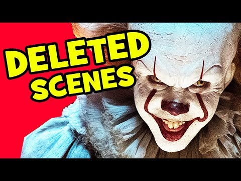 IT Movie DELETED SCENES, Rejected Concepts & IT Chapter 2