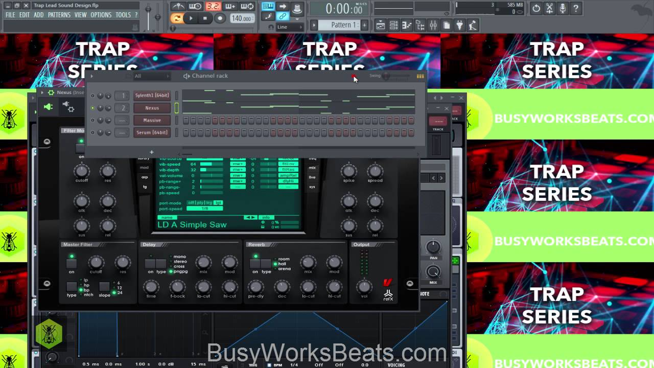 How to Make Trap Leads (Massive, Sylenth1, Nexus, Serum)