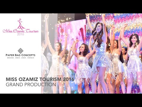 Grand Production Number of Miss Ozamiz Tourism 2016