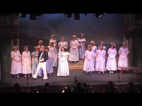 """G&S Ruddigore 2013 (clip 1)   """"From The Briny Sea"""""""