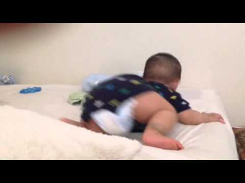 Baby Falling Down From a Bed, 9 months