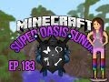 """""""DINO IS ESCAPING!"""" Minecraft Oasis Ep 183"""