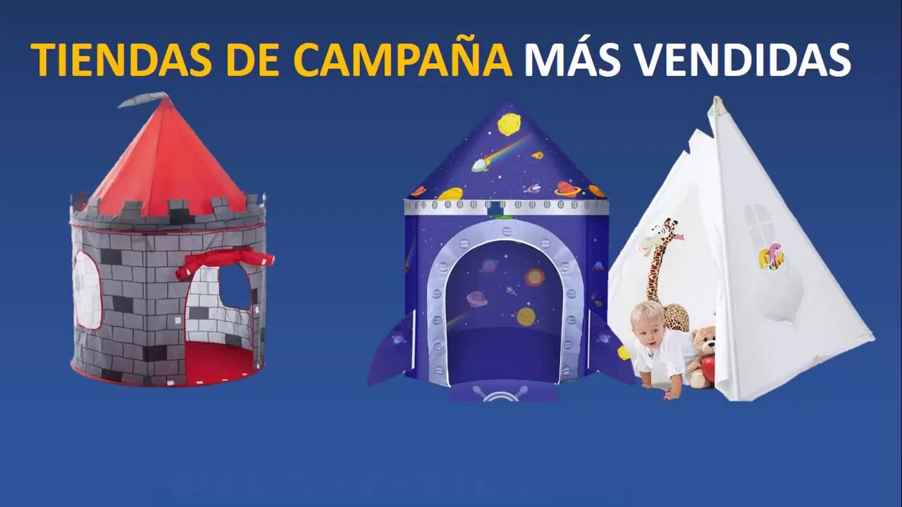 Mejores tiendas de campaña para niños