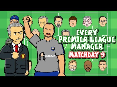 #9 Every Premier League Manager REACTS!