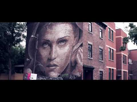 Montreal street art   Mural Festival 2016 [4K] - What's up on Earth