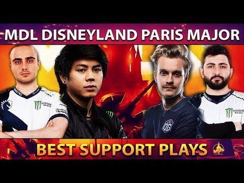 BEST & SMARTEST Support Plays of MDL Disneyland Paris Major Group Stage - Dota 2