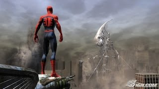 spiderman web of shadows ps3 gameplay and unboxing