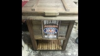 Part 2 of Building a Rustic Cooler