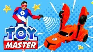 Шоу Той Мастер - Трансформеры и машинки в парке развлечений!