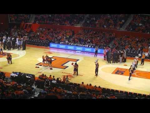 University of Illinois cheerleading team