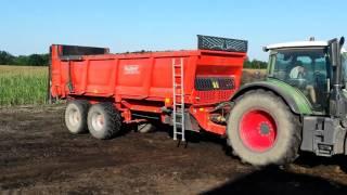 Rozrzutnik Brochard EV 2200 18 ton ładowności w Akcji!