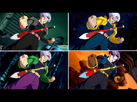 Trunks Alternative Color References - Dragon Ball FighterZ Mods |