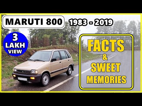Maruti 800 to Alto 800 | Unbelievable facts & sweet memories | Tribute to Alto | ASY