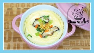 Thai Steamed Eggs Recipe (Kai Toon)