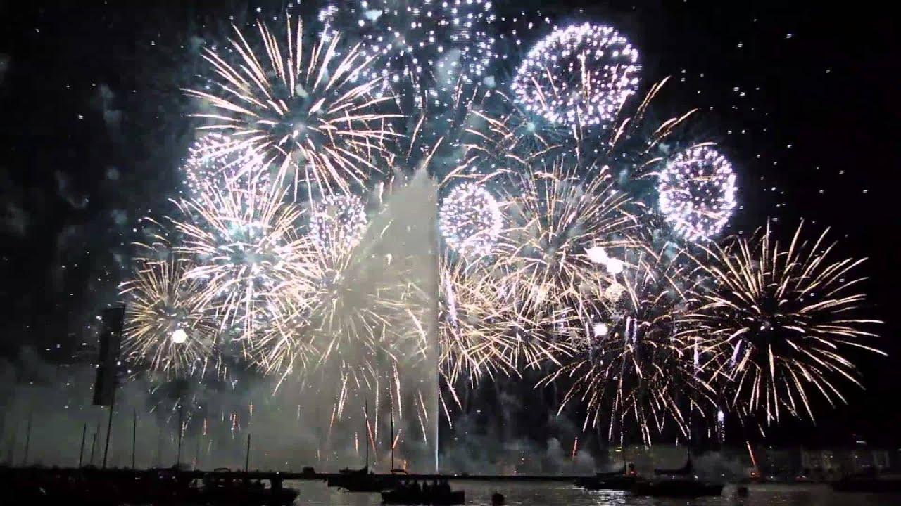 Fête De Genève 2013 Final Feu D Artifice Youtube