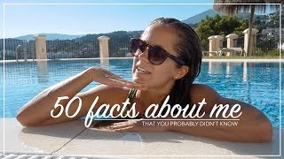 50 FACTS ABOUT ME / english