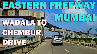Eastern Freeway Mumbai Longest Bridge with twin Tunnel MMRDA Full ride HD 1080 Video Part 1