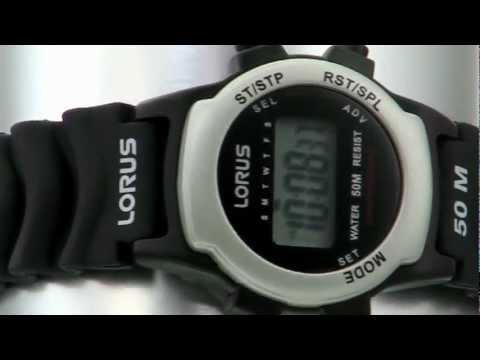 Lorus R2371ax9 Gents Watch Youtube