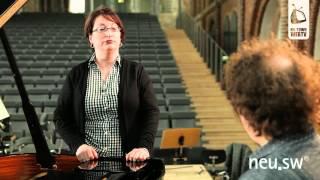 Karen Ferguson und die menschliche Stimme in Stefans Musikworkshop (unterstützt durch neu.sw)