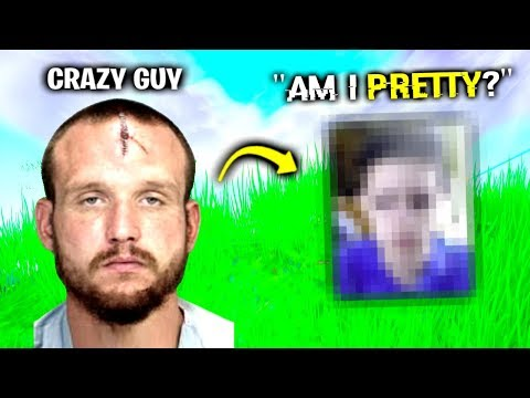 CRAZY Guy's UGLY Face Reveal.. (Fortnite)