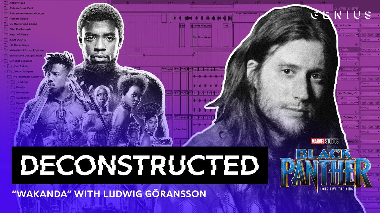 """Download The Making Of """"Wakanda"""" With Ludwig Göransson   Presented By Marvel Studio's Black Panther"""