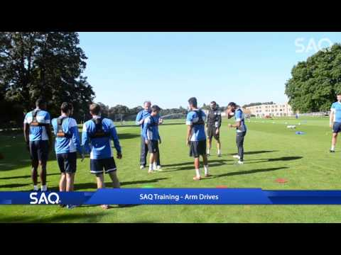 SAQ Training with Peterborough United F.C. - Arm Drives