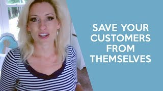 Stop your customers from ruining their own order - handmade business, craft, jewelry, crochet